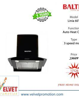 Baltra Linia 60T Kitchen Chimney 60 CM Black