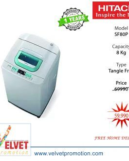Hitachi SF80P 8.0KG Top Load Washing Machine – (White)