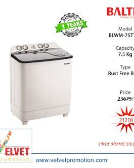 Baltra Washing Machine 7.5 Kg BLWM-75TT01 White