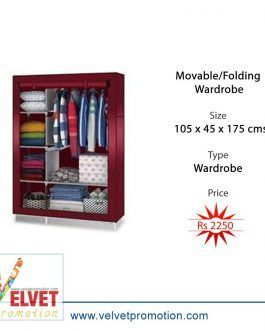 Movable/Folding Wardrobe (105 x 45 x 175 cms)