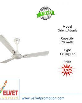 Orient Adonis(Decorative Ceiling Fan)