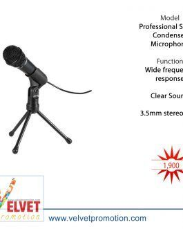 Professional SF-910 Condenser Microphone Portable Mic Sound Studio Podcast 3.5mm w/ Stand