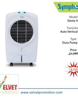 Symphony Air Cooler Siesta 45 (White)