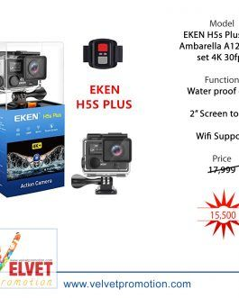 EKEN H5s Plus 4K+ Ambarella A12 Chipset 4K 30fps Utral HD EIS Touch Screen Camera