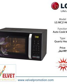 MC2146BP All In One 21L Convection Microwave Oven – (Black)