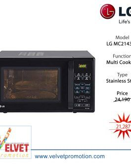 MC2143CB 21 L Convection Microwave Oven – (Black)