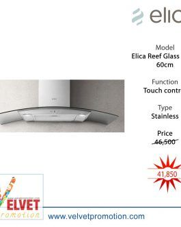 Elica 60cm Reef Glass Hood