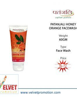 PATANJALI HONEY ORANGE FACEWASH 60GM
