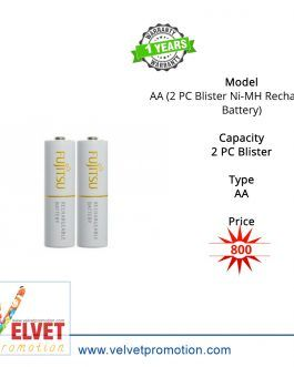 Fujitsu AA (2 PC Blister Ni-MH Rechargeable Battery)