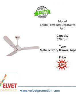 Orient Cristo(Premium Decorative Ceiling Fan)