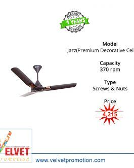 Orient Jazz(Premium Decorative Ceiling Fan)