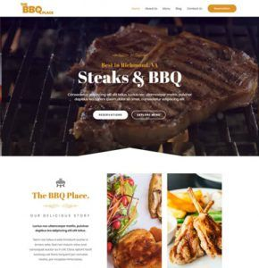 Wpastra – BBQ Restaurant Website