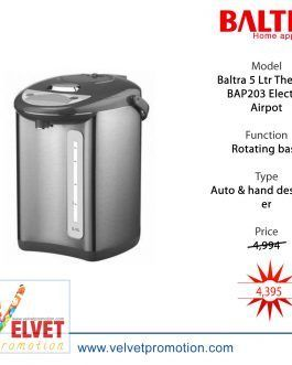 Baltra 5 Ltr Thermal Electric Airpot