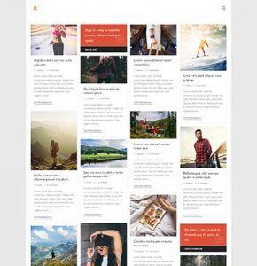 WpOcean – Beautiful Blogger Website
