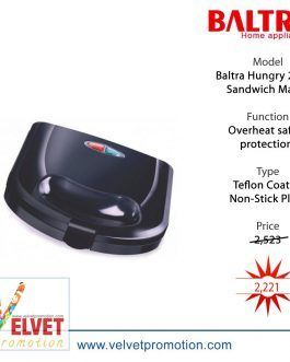 Baltra Hungry 2 Slice Sandwich Maker