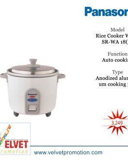 Panasonic Litre Automatic Rice Cooker White SR-WA 18(E)
