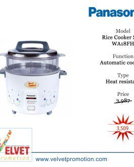 Panasonic 1.8 Ltr Electric Rice Cooker SR-WA18FH