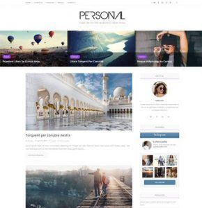 WpOcean – Personal Website