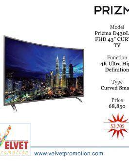 "Prizma D430LSC-FHD 43"" CURVED TV"