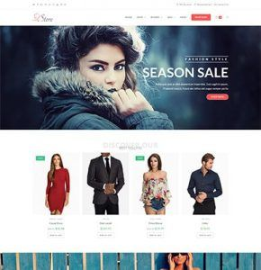 WpOcean – Fashion Store E-Commerce  Website