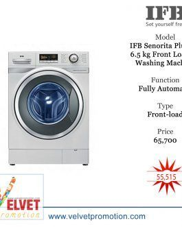 IFB Senorita Plus VX 6.5 kg Fully-Automatic Front Loading Washing Machine
