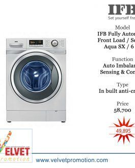 IFB Fully Automatic Front Load Washing Machine / Serena Aqua SX / 6 kg