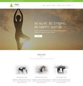WpOcean – Yoga Website