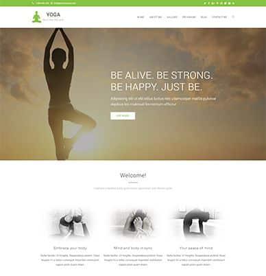 WpOcean – Yoga Website