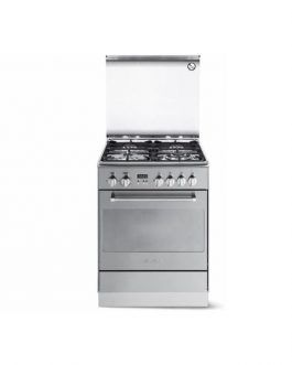 Elba 6NX351Electric oven with one hot plate Steel 60cm