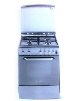Elba 6nx481 gas oven Stainless Steel 60cm
