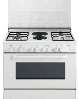 Elba 9DX780 Electric Cooker White