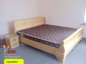Light Brown Bed