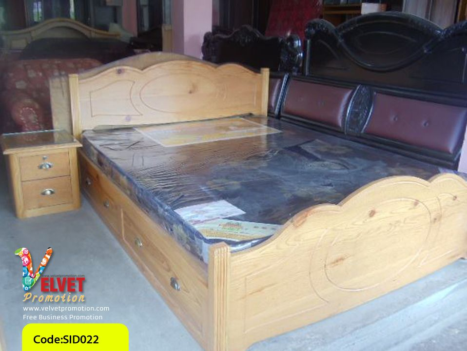 Well Furnished Bed