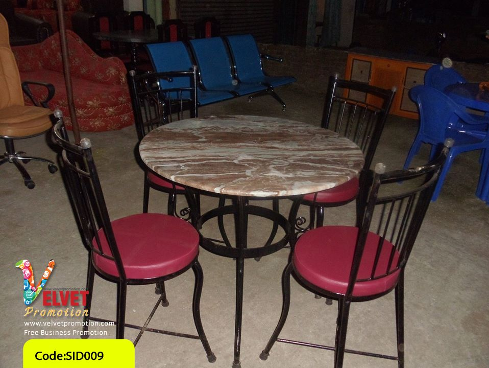 Marble Circle Dinning Table