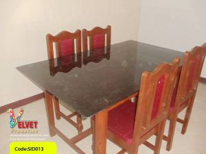 Rectangle Marble Dinning Table