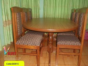 Oval Six Seater Dinning Table