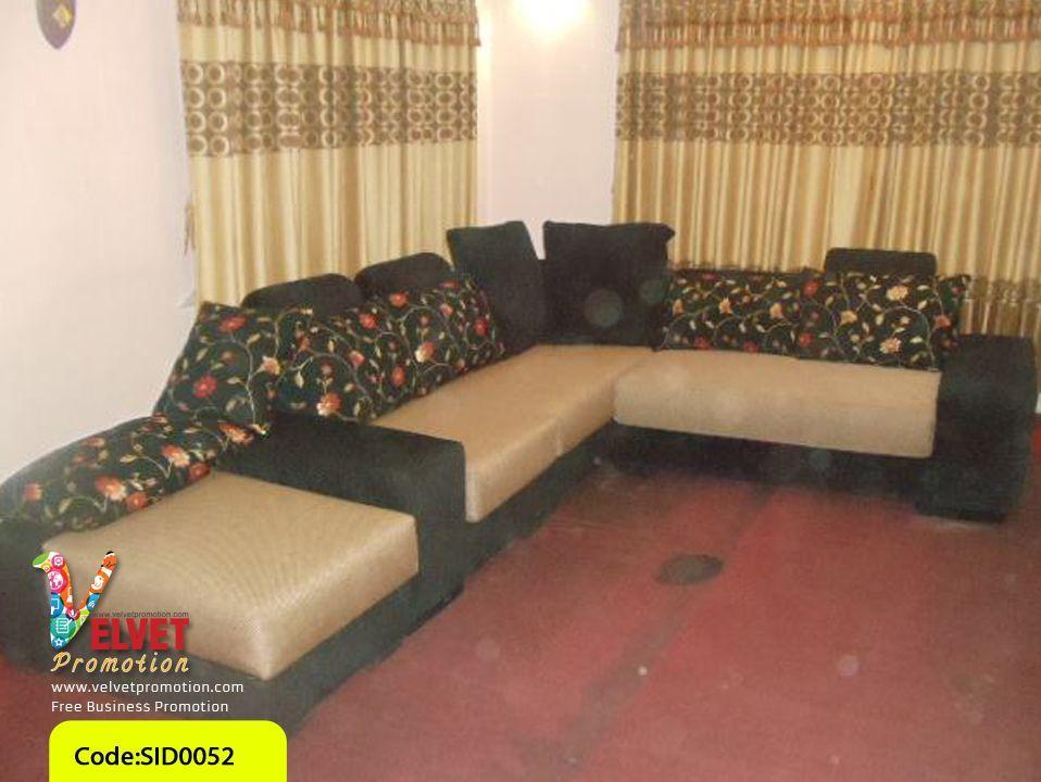 Black Stylish sofa Sid0052