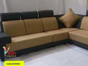 Black Stylish sofa Sid0069