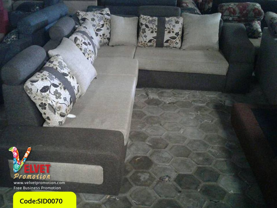Grey Stylish sofa Sid0070