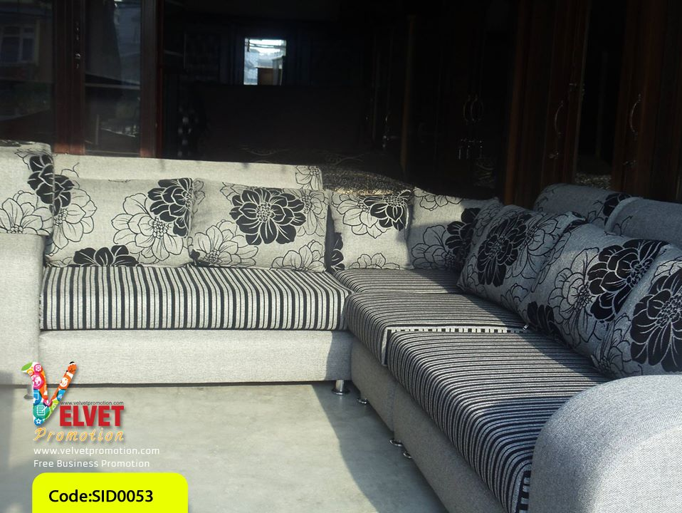 White Stylish sofa Sid0053