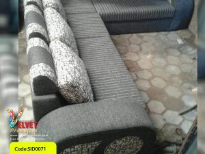 Stripped Grey Stylish sofa Sid0071