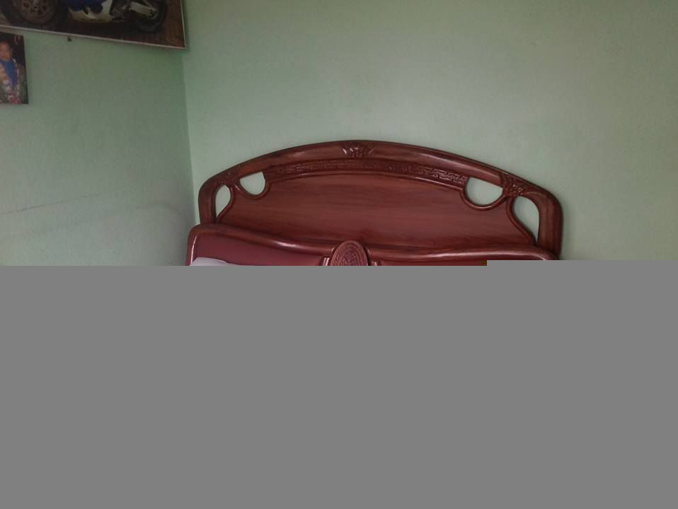 Chocolate Brown Bed