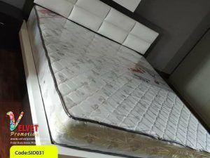 White Stylish Bed  Sid0031