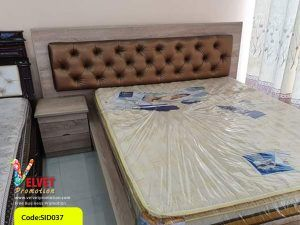 Brown Stylish Bed Sid0037