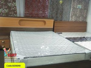 Brown Stylish Bed Sid0040