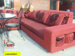 Red Stylish sofa Sid0055