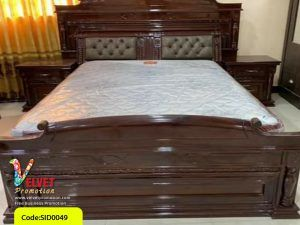 Black Stylish Bed Sid0049