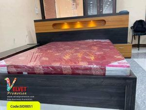 Black Stylish Bed Sid0051