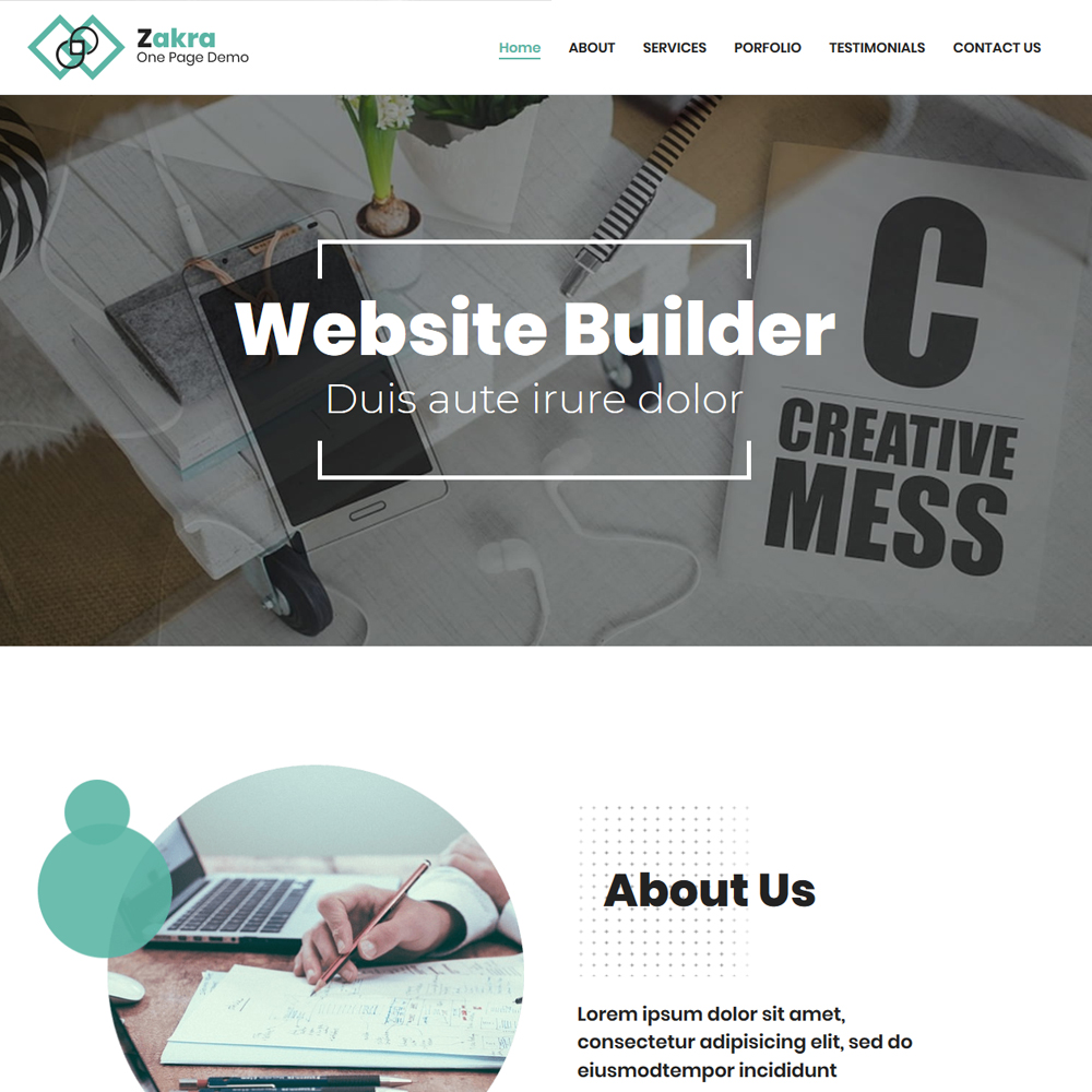 Company Profile – Beautiful Company Website