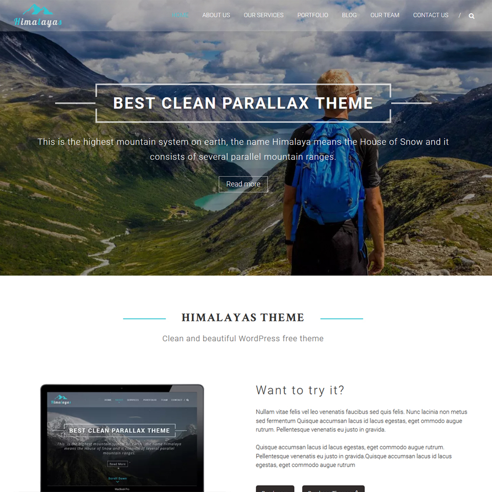 Himalayas – Beautiful Freelancers, Bloggers and Agencies Website